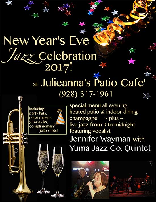 New Year's Eve Celebration at Julianna's